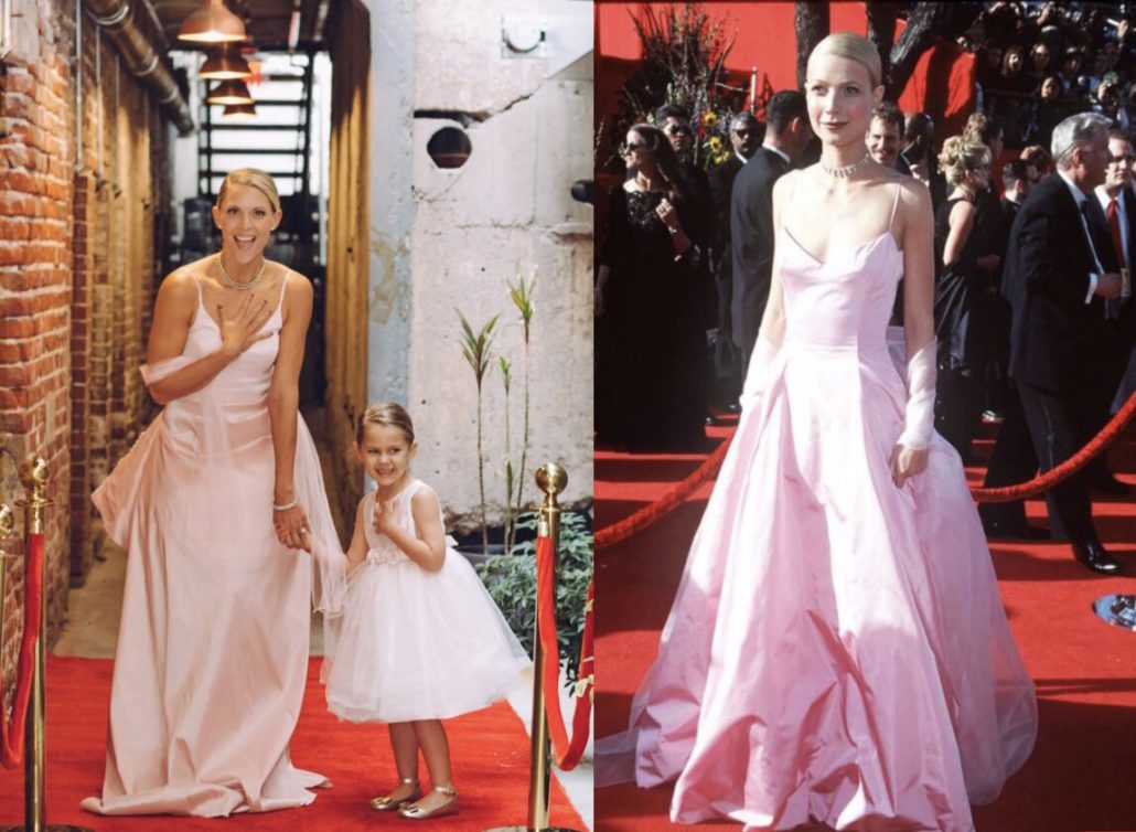 5 MOMS RECREATE ICONIC OSCARS RED CARPET LOOKS WITH THEIR